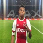 "Neres: ""When I was young, there were 2 girls joking about me. When I returned to my old town 5 years later, I took them both to a 5 star hotel room. I told them that I had to go to the toilet, grabbed my car keys and drove home without paying for the rooms."" 😂😂😂[@ajaxshowtimecom]"