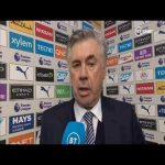 """Man City deserved to win. We were too shy."" Ancelotti on first defeat as Everton boss"