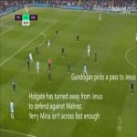 Analysis of Gabriel Jesus goal vs Everton