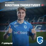 Genk sign 20 year old Norwegian midfielder Kristian Thorstvedt from Viking FK