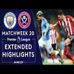 (Manchester City v. Sheffield United - 28') One-touch no-look pass by De Bruyne
