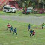 Nice half-volley from Tanzanian Premier League - Bryson Raphael (Azam FC)