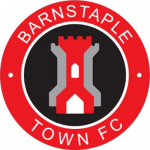 Barnstaple Town FC: Red card for the Manor Farm keeper, and a red for Stuart Bowker. Disgusting from their keeper who is trying to enter our changing room.