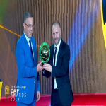 Algeria's Djamel Belmadi is the 2019 African Coach of the Year