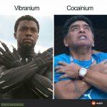 Chad Boseman vs Diego Maradona