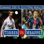 Combined 2009 vs 2019 FIFPro World XI