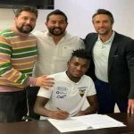 [Bonito] José Cifuentes has signed a 4-year contract with LAFC tonight. $3 million transfer from Universidad Católica for the 20 year old central midfielder.