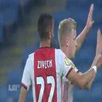 Ajax 2-0 Club Brugge: Hakim Ziyech 15'