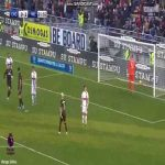 Zlatan Ibrahimovic disallowed goal vs Cagliari