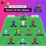 "Premier League on Instagram: ""🙋♂️ @alanshearer's Team of the Week 🙋♂️"""