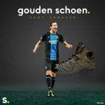 Hans Vanaken wins the Belgian Golden Shoe for the second year in a row