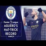 Every single Sergio Aguero hat-trick in the Premier League