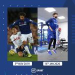 Just over two months after dislocating his ankle, Andre Gomes is back training ahead of a return to the Everton first-team 🔵👏