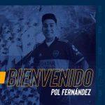 Boca Juniors sign Pol Fernandez