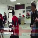 Interesting dancing video of Southampton striker Danny Ings from his young times.