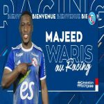 Majeed Waris signs for RC Strasbourg on loan from Porto, with obligation to buy