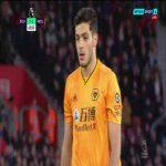 Southampton 2-[2] Wolves: Raul Jimenez PK (VAR Reverses Ref's Decision)
