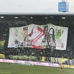 Alan Pardew and Chris Powell banner at ADO Den Haag today