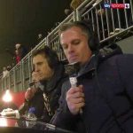 Gary Neville and Jamie Carragher reaction to Van Dijk's goal