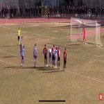 Scenes in the turkish 3rd division, the ref lets Velimeşe take the same penalty twice because the keeper left his line before the kicks, giving the keeper a yellow both times and sending him out. Uşakspor's rb has to take the gloves as they don't have any subs left and proceeds to save the 3rd pen.