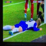 Neuer save Vs Hertha Berlin last night