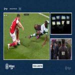 Bolasie (Sporting) Straight Red Card vs Braga 60'