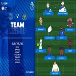 Everton FC official lineup on Twitter - drawn by Kids
