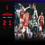 SC Braga have qualified for the Portuguese League Cup Final, this saturday! [SC Braga 2-1 Sporting CP]