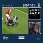 Yannick Bolasie (Sporting CP) straight red card vs. Braga 61'
