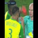"DISCLAIMER: The contents of this video will make you lose any and all respect for this referee. ""The Referee retaliates by attempting to TRIP a player then proceeds to give him a RED card after failing to do so""..."