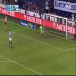 Heerenveen vs Willem II - Penalty shootout (4-3)