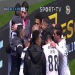 João Pedro (Vitória SC) disallowed equalizer after VAR review, 90'+5' [Vitória SC 1-2 FC Porto]