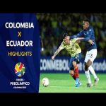 Preolimpico 2020 (U23) Colombia vs. Ecuador Highlights