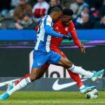 Lukebakio skill and Alphonso Davies tackle