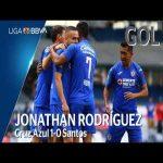 Cruz Azul [1] - 0 Santos Laguna (J. Rodríguez 1') | R. Alvarado Assist