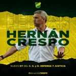 Hernan Crespo is now the manager of Superliga Argentina side Defensa y Justicia