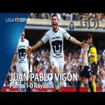 Pumas [1] - 0 Monterrey (J. Vigón 75')
