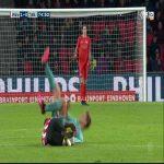 Red Card Ibrahim Afellay 75' ([PSV]-FC Twente)