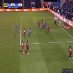 Shrewsbury Vs Liverpool - Shrewsbury Penalty Shout in the 87th Minute