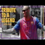 Barça tribute to Kobe Bryant