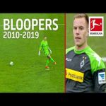 Bundesliga Top 10 Goalkeeper Bloopers of The Decade 2010-2019 - Bürki, ter Stegen, Leno & Co