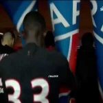 "Neymar getting mad in the tunnel post match after getting a yellow card for dribbling, tells a ref in Portuguese: ""I play football and he gave me a yellow card, tell him he can't give me yellow"", referee replies ""Speak French""; Neymar ""Speak French.. my ass"""