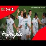 Mexico 6 - 0 Saint Kitts and Nevis | 2020 CONCACAF Women's Olympic Qualifying Highlights