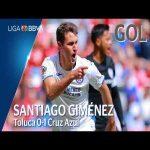 Toluca 0 - [1] Cruz Azul (S. Giménez 2')