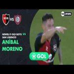 Newell's [1]-0 San Lorenzo - Aníbal Moreno 71' (great goal)