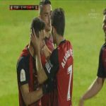 Mirandés 1-0 Villarreal - Matheus Aiás 17'