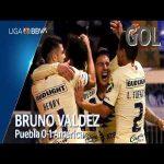 Puebla 0 - [1] Club América (B. Valdez 79')