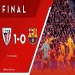 Athletic Club advances to the 2019/2020 Copa del Rey semi-finals. Barcelona eliminated