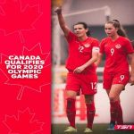 Canada 🇨🇦 has qualified for the Tokyo 2020 Olympics women's tournament