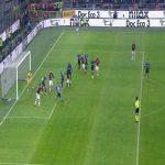 Inter Milan 0-[2] AC Milan | Ibrahimovic 45+1